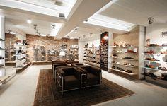 """shoe store """"van Arendonk"""" Breda, The Netherlands. Interior design by BARTOSZEK&BARTOSZEK DESIGN Tilburg."""