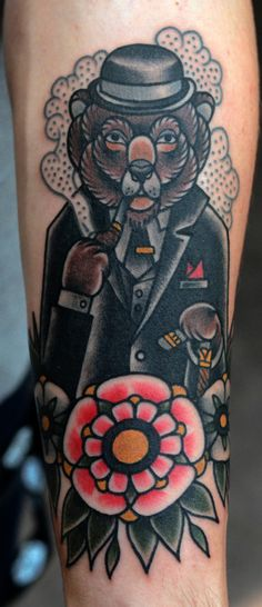 Classy Woodland Animals are all the rage in tattooing right now.