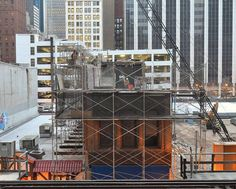 One of the Loop's oldest buildings is now down to its first floor as demolition crews continue dismantling the Osborne & Adams Leather Co. building on Lake Street. Built...