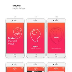 Create a new dating app design for Taga10 by masiko