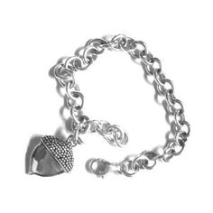 Acorn Charm Bracelet from the Multiple Myeloma Research Foundation The Big C, Multiple Myeloma, Acorn, Research, Foundation, Daddy, Cancer, Charmed, Mom