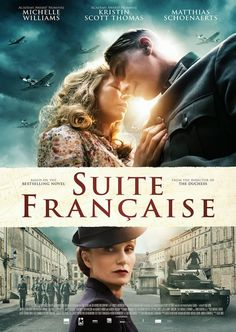 Kristin Scott Thomas, Matthias Schoenaerts, and Michelle Williams in Suite Française Films Hd, Films Cinema, Hd Movies, Movies To Watch, Movies Online, Movies And Tv Shows, Movie Tv, Movies Free, Romance Movies
