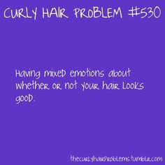 curly hair problem #530