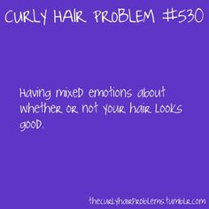 curly hair problem #530
