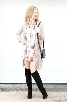 Fringe and Floral Frenzy