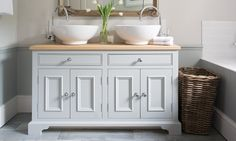 Our favourite bathroom console units with storage