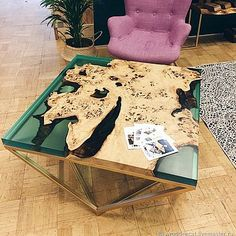 Apartment Styles, Resin Furniture, Luxury Kitchen Design, Resin Table, Resin Art, Innovation, Interior Decorating, Woodworking, Home Decor