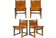 Brazilian Sling Side Chairs, Set of 4 on OneKingsLane.com