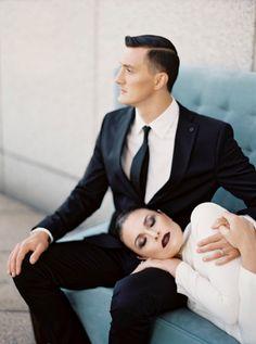 A modern affair | Jen Huang Photo | Contax 645 | Fuji Film | Fashion | san francisco wedding photography inspiration
