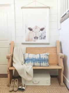 If you told me I could accomplish my farmhouse entry makeover for under $100 dollars I would have said you're crazy! But, guess what? I did!