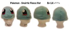 No more neck acne/vampire marks! xD I covered the old head with paper mache. Wartortle (c) Nintendo Hat design and photo (c) ~clearkid Commission information: Fleece hat tutorial: For the glory of ...