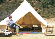 SIBLEY-400-Ultimate-Tent-Yurt-Tipi-Bell-Chillout-Tent-Zipped-in-Floor