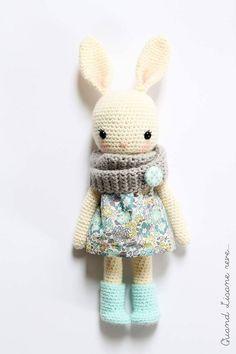 Crochet hare