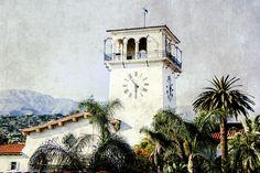 Santa Barbara Courthouse Fine Art Photographic Print in Various Sizes
