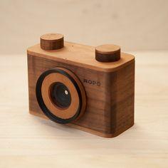 Cámaras estenopeicas de madera que no requieren lentes