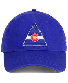 d63d1b37c7e Authentic Nhl Headwear Colorado Rockies Fan Relaxed Adjustable Strapback Cap  - Blue Adjustable