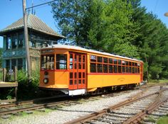 Another one of my favorites at the Seashore Trolley Museum, Boston Elevated Car #5821. I haven't seen this one in use in a while, it always seems to be on display though I don't make it up to the museum for visits as regularly as I once did so I'm probably just missing it.