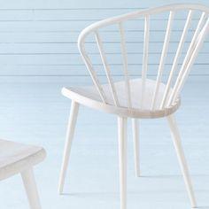 Miss Holly stol - ask ljus mattlack – Svenssons. Scandinavian Interior, Chair, Kitchen, Furniture, Home Decor, Google, Cooking, Decoration Home, Room Decor