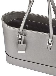 Pewter Scratchy Tote Bag