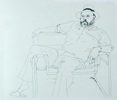 hockney line drawings - Google Search