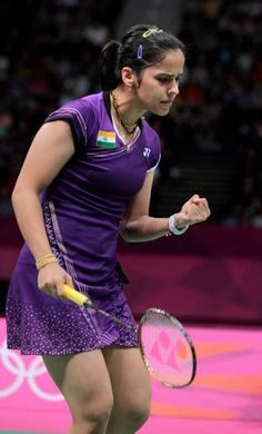 """still can't believe that I have won a medal. I never believed that India could win a medal in badminton because the competition is so tough. It is a dream come true for me,"""" says Saina Nehwal.Rocking Star of India Badminton Photos, Women's Badminton, Deepika Padukone Hot, Sporty Chic Style, Sports Personality, Sports Party, Sports Stars, Great Women, Sport Girl"""