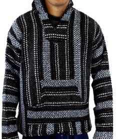 sky blue baja hoodie
