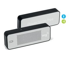 Bower bank bluetooth speaker - Great gadget gift idea to keep your mobile phone charged and for playing music #bluetoothspeaker #powerbank #coolgifts