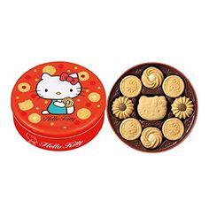 Great Japanese Bourbon Hello Kitty Butter Cookies Gift Tin