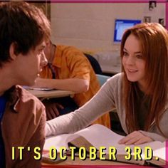 GUYS, it's been ELEVEN years since Aaron Samuels asked Cady Heron what day it…