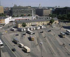 Helsingin linja-autoasema. Helsinki, Photo Archive, Stockholm, Past, Nostalgia, Pictures, Retro, Random, Historia