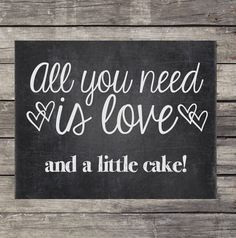 Chalkboard Wedding Sign  Instant Download by OurLittleMoments