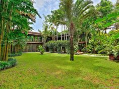 5045 SW 82nd St, Miami, FL 33143 | MLS #A10721560 | Zillow Two Story Windows, Impact Windows, Miami Houses, Green Lawn, Coral Gables, How To Level Ground, Virtual Tour, Acre, Mid-century Modern