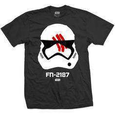 Star Wars Mens Tee: Episode 7 Finn Wholesale Ref:STWAEP7TS29MB