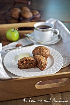 apple-pecan quinoa muffins | lemons and anchovies
