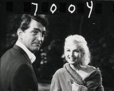 """Dean Martin and Marilyn Monroe on the set of """"Something's Got To Give"""", 1962"""