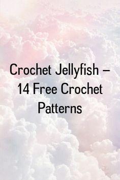 Crochet Keychain – 15 Free Crochet Patterns by diysense. Knitted Washcloth Patterns, Tunisian Crochet Patterns, Knitted Washcloths, Granny Square Crochet Pattern, Crochet Patterns For Beginners, Crochet Granny, Crochet Hooded Cowl, Crocheted Jellyfish, Butterfly Kids