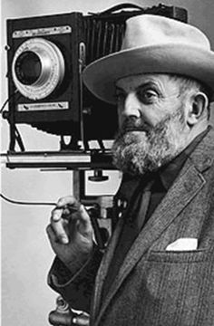 Ansel Adams   American photographer and environmentalist.  His black and white landscape photographs of the American West, especially of Yosemite, have been the subject of many calendars, posters and books.