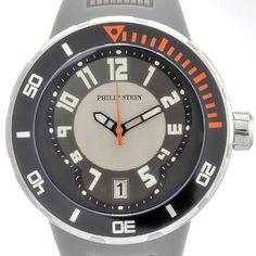 Philip Stein 34-BGR-RGR – Reloj analógico de cuarzo para hombre, correa de silicona color gris - See more at: http://reloj.florentt.com/watches/philip-stein-34bgrrgr-reloj-analgico-de-cuarzo-para-hombre-correa-de-silicona-color-gris-es/#sthash.4ezTPfTq.dpuf
