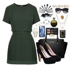 """""""Untitled #278"""" by goggy1355 ❤ liked on Polyvore featuring Topshop, MICHAEL Michael Kors, Étoile Isabel Marant, NARS Cosmetics, Catherine Malandrino, Shishi, Vince Camuto, Accessorize and Edge of Ember"""