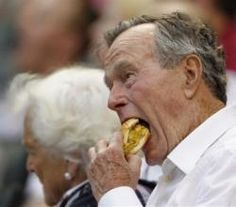 George H. W. Bush - Photo #10 From Presidents Day: What Our Presidents Love To Eat | ifood.tv