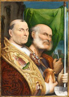 St. Prosdocimus and St. Peter Date: circa 1515–1517 Artist: Il Pordenone (Giovanni Antonio de' Sacchis)  Gift of the Samuel H. Kress Foundation