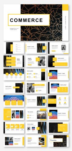 4 in 1 Business Report Presentation Template Web Design, Page Design, Layout Design, Slide Design, Graphic Design, Presentation Layout, Business Presentation, Presentation Templates, Template Web