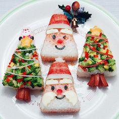 Sushi Santa & tree
