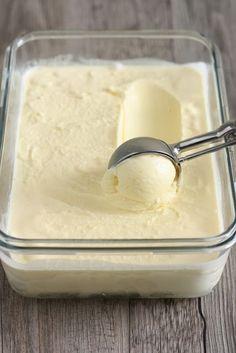 Ice Cream Desserts, Köstliche Desserts, Italian Desserts, Lemon Desserts, Frozen Desserts, Ice Cream Recipes, Delicious Desserts, Frozen Treats, Light Ice Cream Recipe