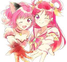 kira kira a la mode tokyo mew mew Anime Crossover, Pretty Cure, Kawaii Anime, Tokyo Mew Mew Ichigo, Real Anime, Manga Love, Anime Shows, Magical Girl, Cute Art