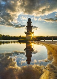 Lake Reflection by timmcglynn