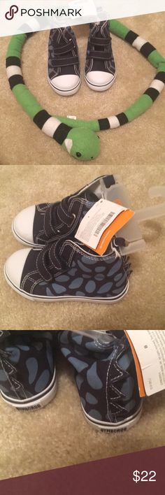 NWT Gymboree boys sneakers size 8 NWT. Smoke free home. Super cute dinosaur print!! Gymboree Shoes Sneakers