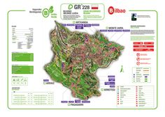 El sendero del anillo verde de Bilbao se homologa internacionalmente como Gran Recorrido
