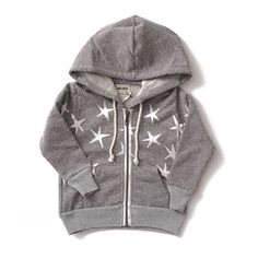 Starry hooded sweat