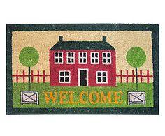 Zerbino in cocco e gomma Welcome - 43x73x2 cm Kids Rugs, Fantasy, Home Decor, Decoration Home, Kid Friendly Rugs, Room Decor, Fantasy Books, Fantasia, Home Interior Design